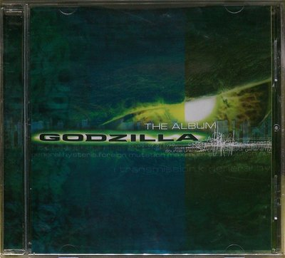 原聲帶 酷斯拉 Godzilla 二手亞版