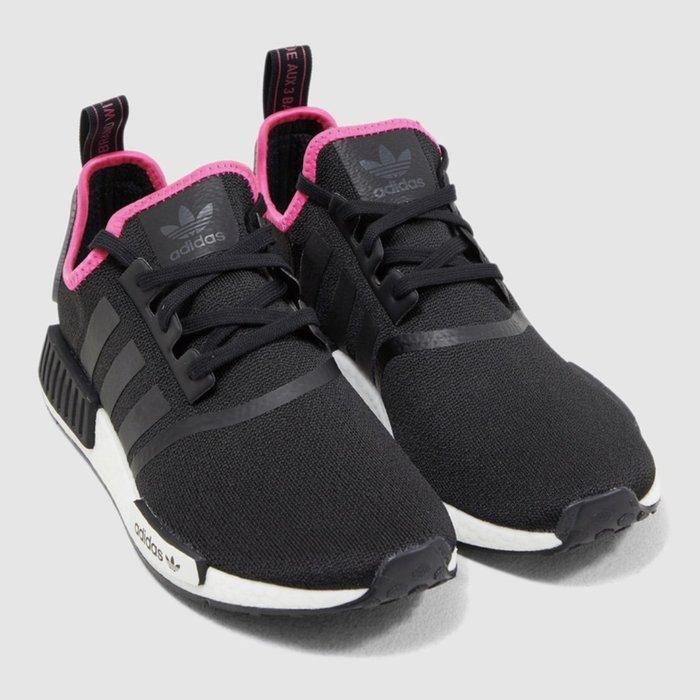 Washoes adidas NMD R1 Boost 黑 粉紅 DB3586 桃紅 US 8~11 慢跑鞋 男鞋05