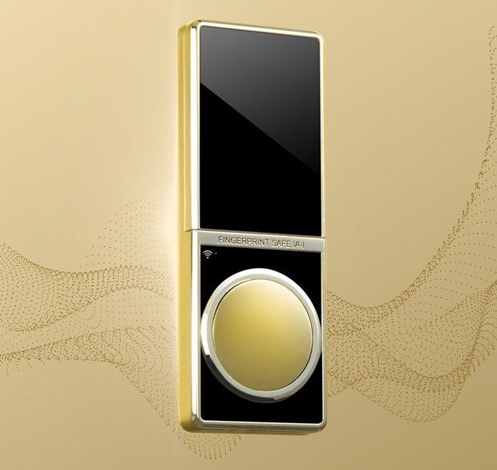 聚富凡爾賽系列頂級指紋密碼鎖保險箱/保險櫃/金庫Versailles C80銀@四保科技
