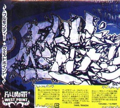 K - FULL MONTY - BRUTE!!! + WEST POINT - 日版 2 CD - NEW