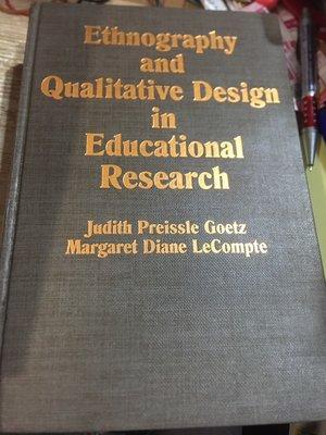 店B《好書321》Ethnography&Qualitative Design in Educational Resea