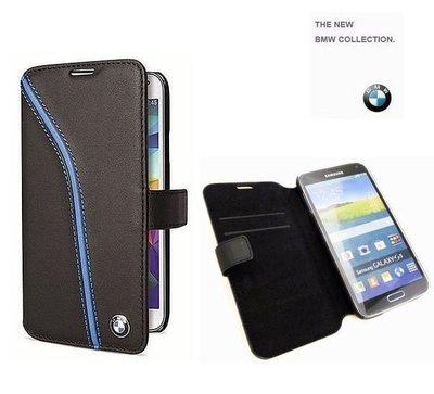 【BMW】原廠真皮皮套 SAMSUNG【Galaxy S5 I9600 G900i】側翻式、翻書式皮套【先創國際公司貨】