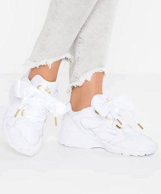 Puma Prevail Heart 蝴蝶女神鞋 淺紫 黑白 全白 緞帶 球鞋 歐洲公司貨