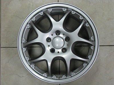 【益和輪胎】5孔112 類17吋鋁圈 適用BENZ W202、W203、W204、W210、W211等車系