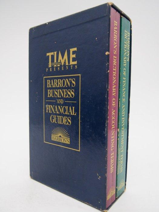 【月界】BARRON'S BUSINESS AND FINANCIAL GUIDES(絕版)_TIME 〖商業〗CLS
