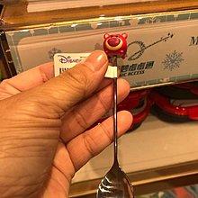 限量現貨 香港Disney折扣季 Disney餐具 Q版人物造型茶匙/叉子 達菲叉子 雪莉玫茶匙 畫家貓叉子 熊抱哥茶匙