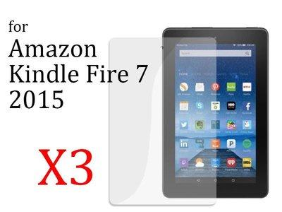 [GIFUTO] Amazon Kindle Fire 7 2015 平板螢幕保護貼 屏幕保護膜 - 透明亮面三片裝