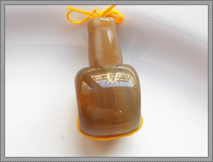 【雅之賞|藏傳|佛教文物】 *特賣*藏式老款手工天然瑪瑙19mm 三通佛頭~200113