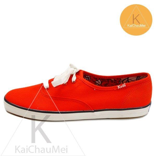 凱喬美│Taylor Swift for Keds 泰勒斯 繽紛 橘 紅 夏日躍動 亮彩季節限定色 帆布鞋 散步時尚女孩
