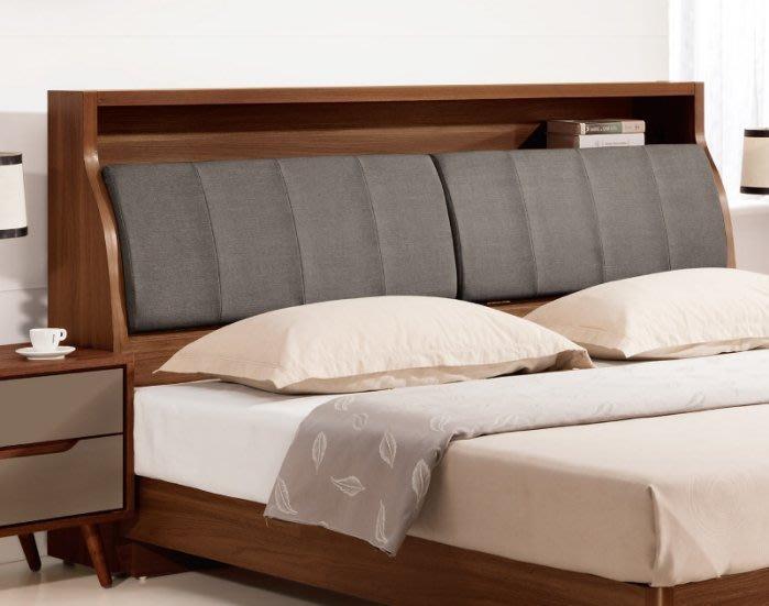 【DH】商品貨號VC349-8商品名稱《蘭米》6尺床頭箱(圖一) 備有五呎可選。 貓抓皮/附插座/可掀式置物。特價