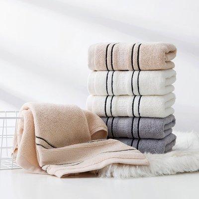 【TT】加厚棉質毛巾不掉毛吸水面巾 兒童成人情侶加長柔軟洗臉巾