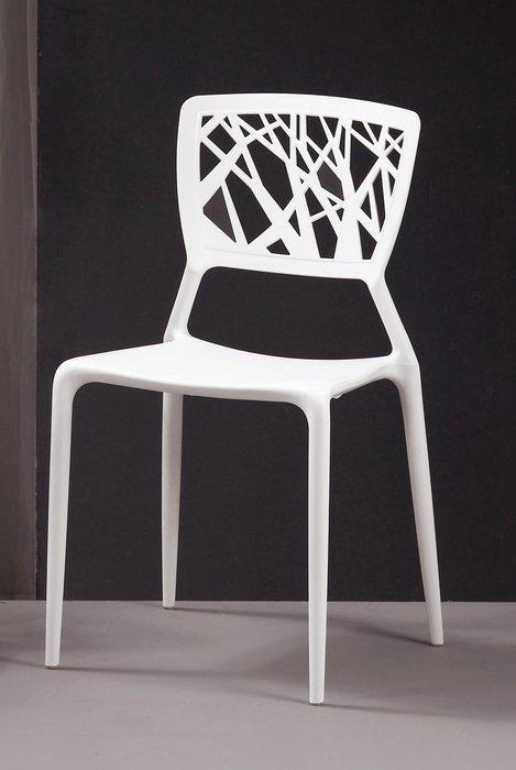 CH522-15 珍尼絲造型椅(白/橙)/大台北地區/系統家具/沙發/床墊/茶几/高低櫃/1元起/超低價/高品質