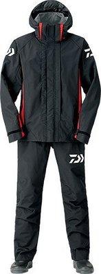 【NINA釣具】DAIWA DR-3106 雨衣套裝 黑色 3XL