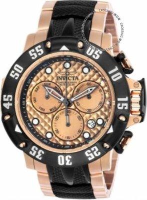 展示品 Invicta 23806 50mm Subaqua Quartz Chronograph Day Date Stainless Mens W