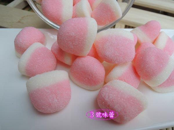 3號味蕾 量販團購網~捷克造型QQ 1500g(草莓包)量販價