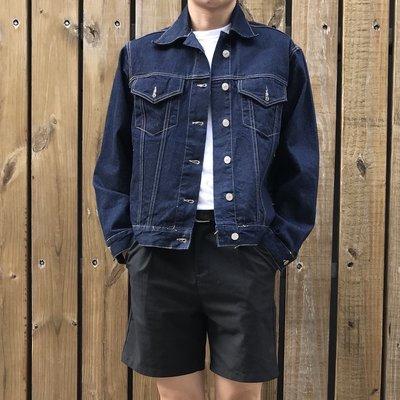 【inSAne】Korea Select / 牛仔外套 / 深藍色款 / 合身款