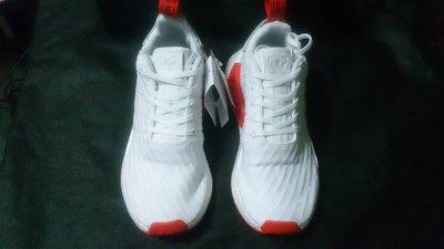【100%正品代購】Adidas NMD R2 PK編織 Primeknit 紅白BA7253 針織SOCK 男女鞋 DOOM非XR1