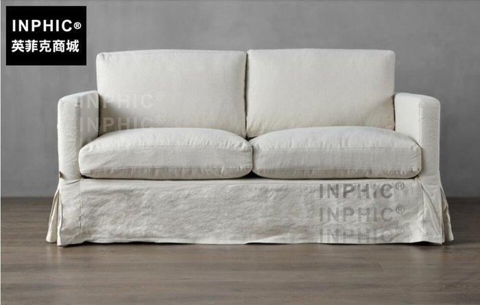 INPHIC-北歐亞麻羽絨沙發 可拆洗 現代簡約休閒布藝沙發_S1910C