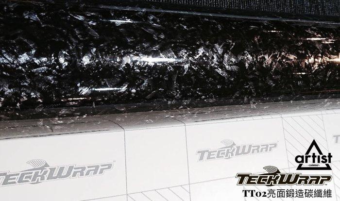 【Artist阿提斯特】 Teckwrap美國禿鷹 TT02 亮面鍛造碳纖維 車貼膜(10*148=$300)