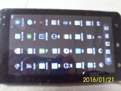 7吋通話平板 3G Taiwan Mobile P2 單核心  公司集體汰換 少用少刮痕 附旅充 保固一年 3