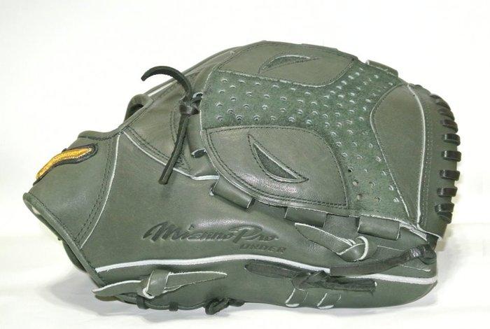 貳拾肆棒球-日本帶回 Mizuno pro 由規式樣特別訂作硬式投手手套展示品/耕作作/日製