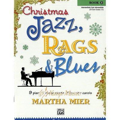 Kaiyi Music 【Kaiyi Music】爵士、散拍與藍調的聖誕節曲目Christmas jazz,Rags&bluesbook 3