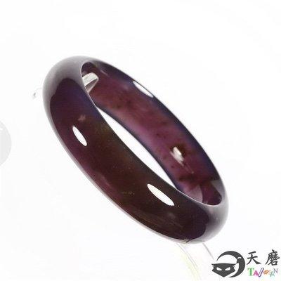 玉鐲 紫玉髓手鐲 內徑56.5mm 天磨 Gsa 37