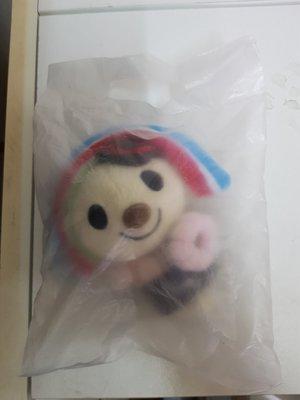 台灣限定 多拿滋 Mister Donut - OPEN 小將 甜甜圈 絨毛磁鐵 - 寬15長14cm - 301元起標