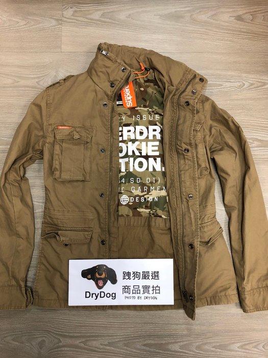 跩狗嚴選 現貨特價 極度乾燥 Superdry Rookie 經典 軍裝夾克 M65 外套 純棉 迷彩內襯 沙岩 卡其色