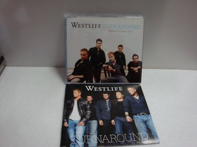 【銅板交易】二手原版CD--西城男孩westlife / turnaround 回首真愛--VCD