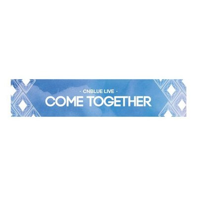 【I'm loving CNBLUE】COME TOGETHER 官方應援毛巾-FNC正版官方週邊代購