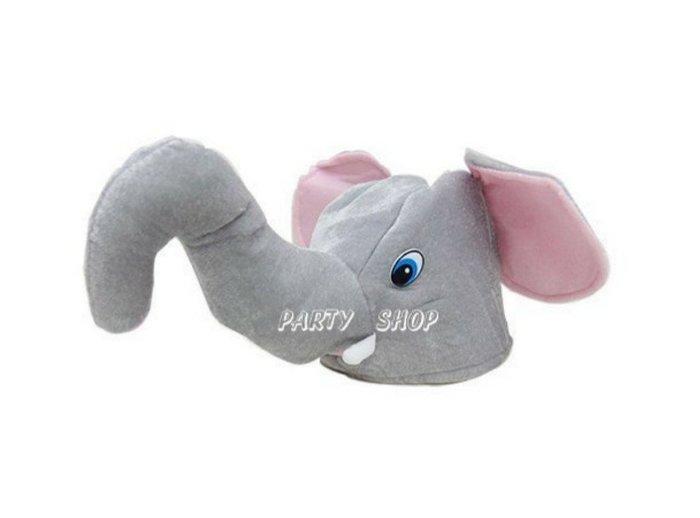 M63【派對樂】聖誕節 萬聖節服裝,動物造型帽,變裝舞會帽子/大象造型帽_大象帽