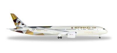 B787-9 Etihad Airways Registration:A6-BLB 阿酋聯合航空 絕版品