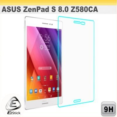 【Ezstick】ASUS ZenPad S 8.0 Z580 CA 8吋 平板 鏡面鋼化玻璃膜 197x129mm