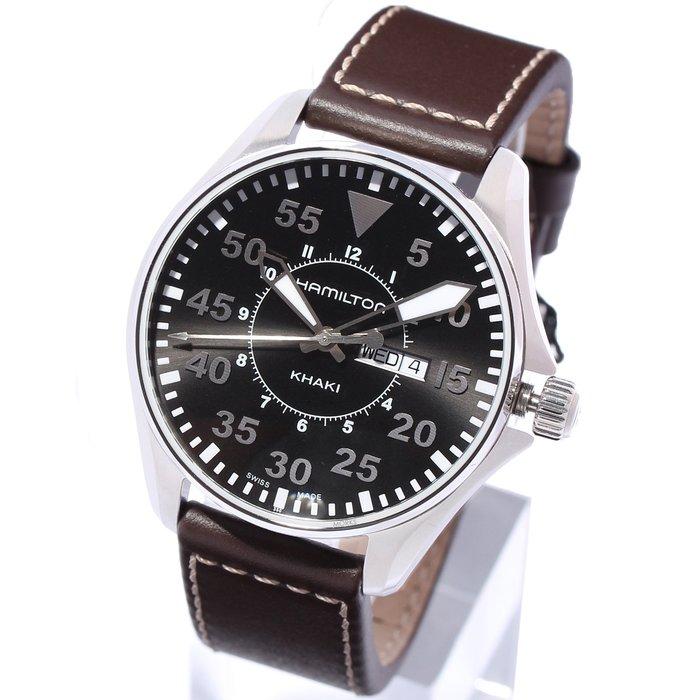 現貨 可自取 HAMILTON H64611535 漢米爾頓 手錶 42mm 卡其航空系列 飛行錶 男錶女錶