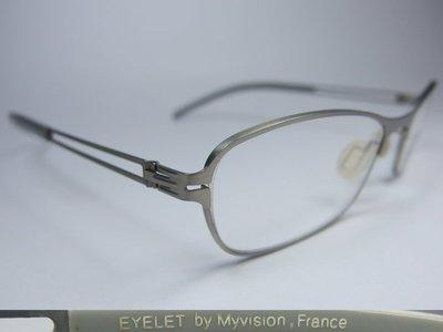 【信義計劃】全新真品 EYELET 眼鏡 E12 鏤空金屬框 無螺絲 超輕 超越 Infinity Lindberg