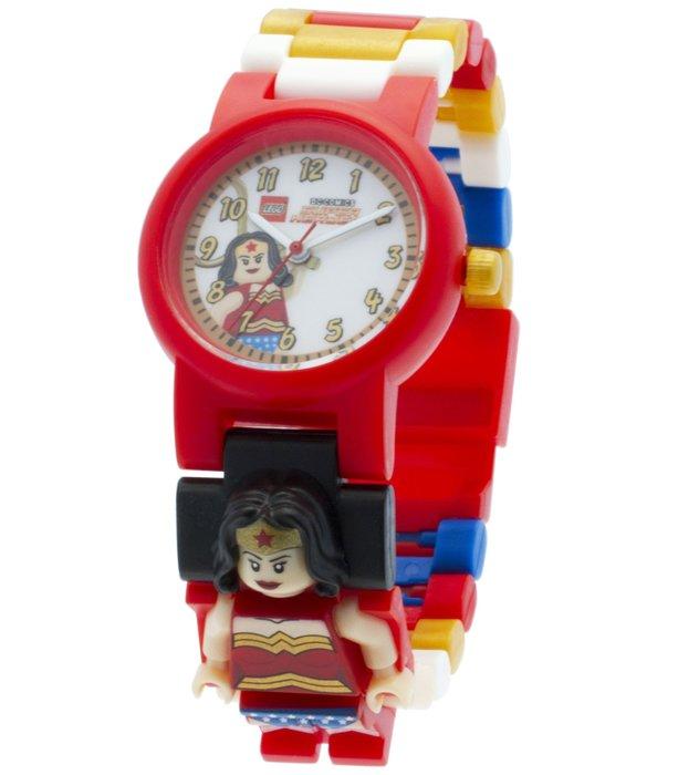 超夯美版現貨【LEGO 樂高】全新正品/ 神力女超人手錶 DC英雄聯盟 Wonderwoman 人偶手錶公仔 含原廠盒