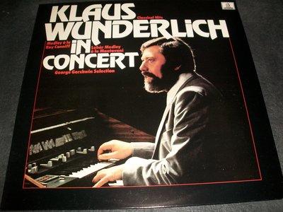 LP黑膠唱片 - KLAUS WUNDERLICH IN CONCERT/UK版