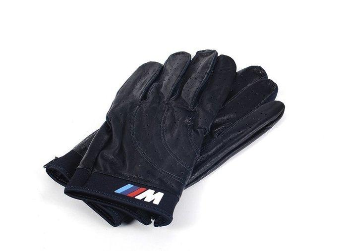 【樂駒】BMW 原廠 M Collection 賽車 手套 防滑 生活 精品 周邊 皮革 保護 品味 男士