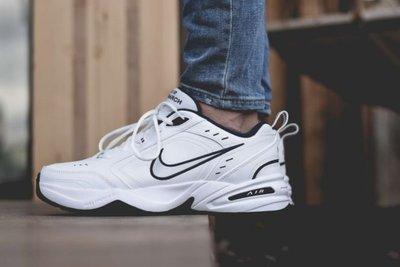 南◇2020 4月 Nike Air Monarch IV 415445-102  老爹鞋 復古 老爸鞋 白色 灰藍色