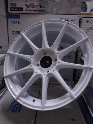 超鑫鋁圈 DG FG06 16吋旋壓鋁圈 輕量化 白 4孔100 7J 大內凹 海拉風