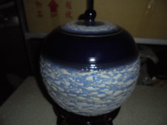 頂級紅土4號 約15斤 手拉坏 茶葉罐 普洱茶 罐 老茶 醒茶 米甕 聚寶盆 收納罐 #3亮光藍