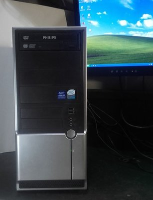 【窮人電腦】自組華碩雙核工業主機跑Windows XP系統!雙北桃園以北可外送!外縣可寄!