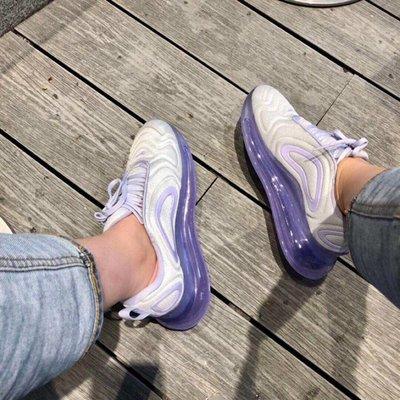 Nike Air Max 720 紫色 紫羅蘭 白色 紫色 大氣墊AR9293-009 36-39