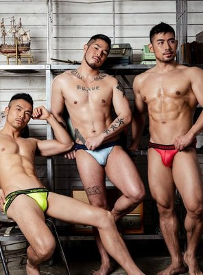 GX3 超值三件入 UPGRADE JOCK BRIEF 性感剪裁低腰內褲-K924《Men Style》