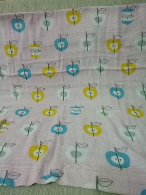天使熊小鋪~日本帶回COTTON GAUZE嬰幼兒棉紗布毯  棉紗巾 日本製~全新現貨~