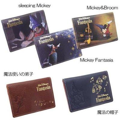🇯🇵【Made in Japan】Mickey 米奇 日本原裝正版 真皮 卡片套 5款 div-fa-17-22