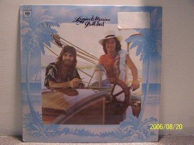 【原版流行LP】103.Loggins & Mussina:Full sail專輯(曲目詳照片)