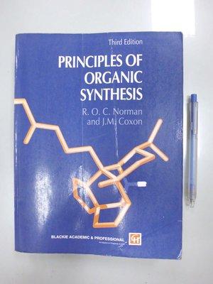 6980銤:C3-3cd☆1993年出版『Principles of Organic Synthesis 3/e』