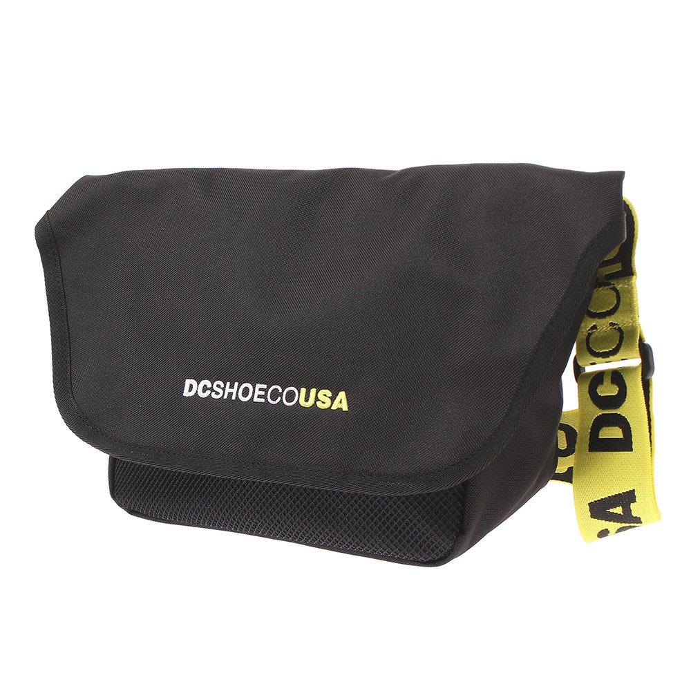 [CABAS滑板店] DC 19 BBM MINI BAG 黑/黃 │滑板 側背包 郵差包